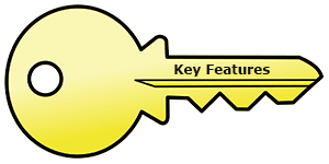 key web hosting features